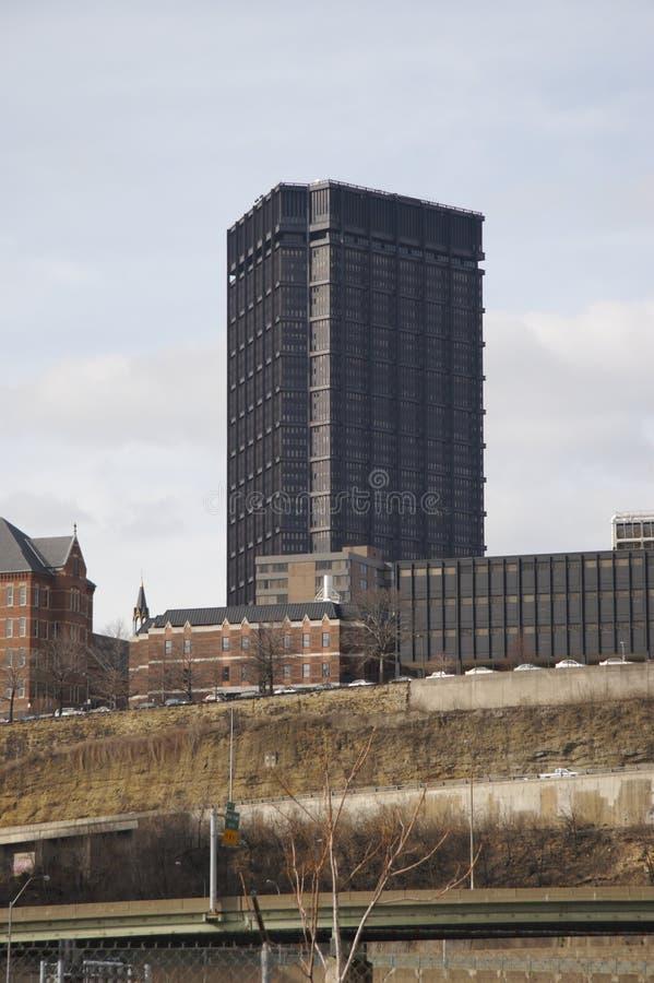 Torre de USX & universidade de Duquesne foto de stock royalty free