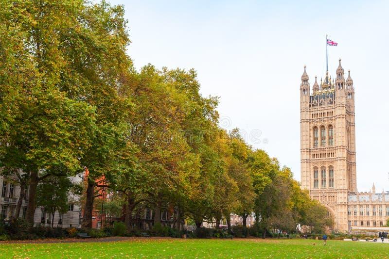 Torre de Victoria, Londres, Reino Unido fotografía de archivo