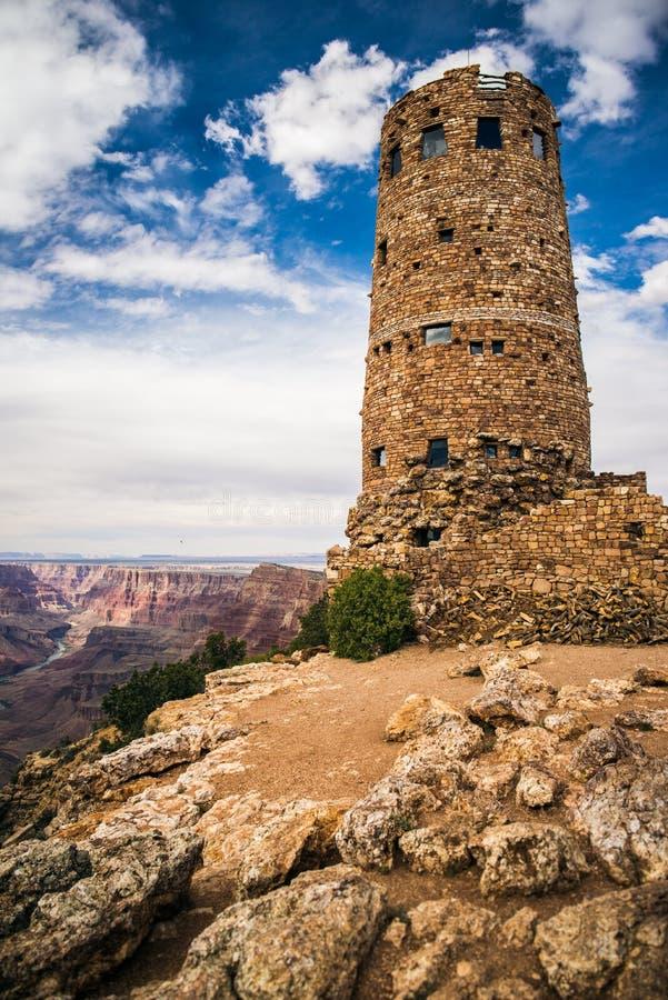 Torre de vigia da opinião do deserto fotos de stock royalty free