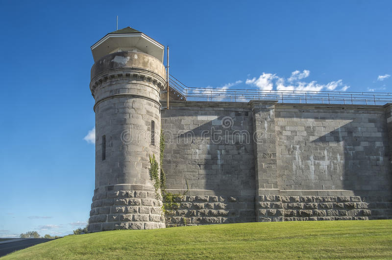Torre de vigia da penitenciária imagem de stock royalty free