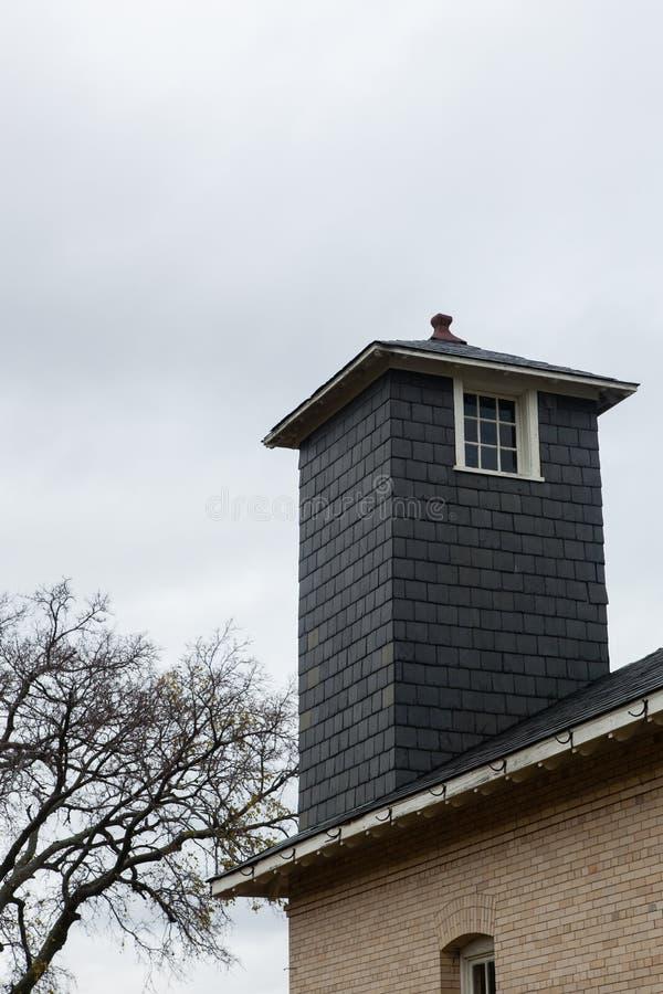 Torre de vigia velha fotos de stock