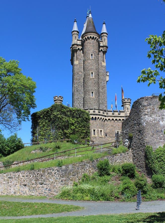 Torre de Wilhelms, Dillenburg fotos de archivo libres de regalías