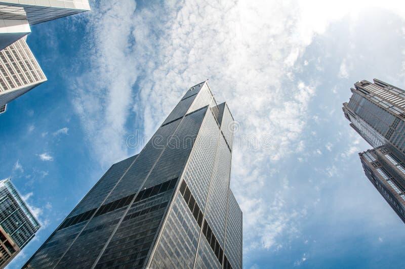Torre de Willis dos gatilho imagem de stock royalty free