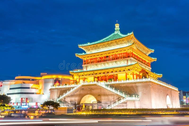 Torre de Xian Bell foto de stock