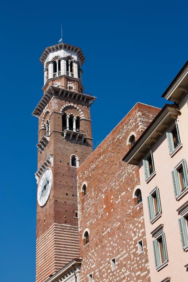 Free Torre Dei Lamberti (Lamberti Tower) Stock Photos - 16941083