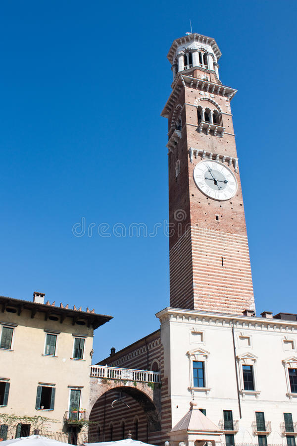 Free Torre Dei Lamberti (Lamberti Tower) Stock Photos - 16941163