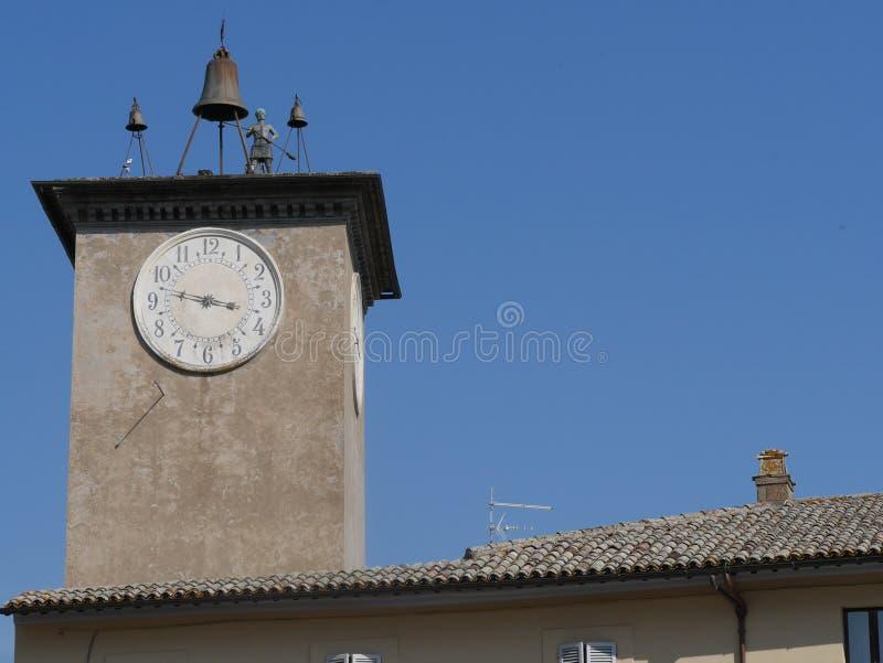 Torre del莫罗,奥尔维耶托 免版税库存照片