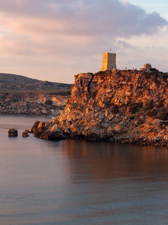 torre del Acantilado-lado fotos de archivo libres de regalías