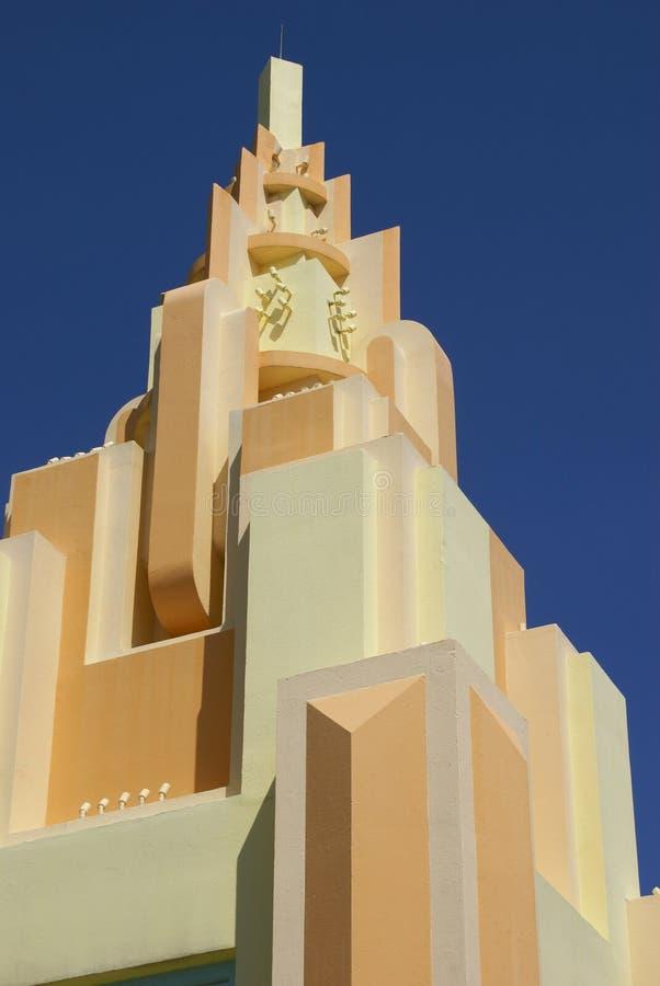 Torre del art déco imagen de archivo libre de regalías