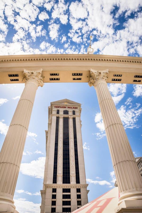 Torre del Caesars Palace fotografie stock libere da diritti