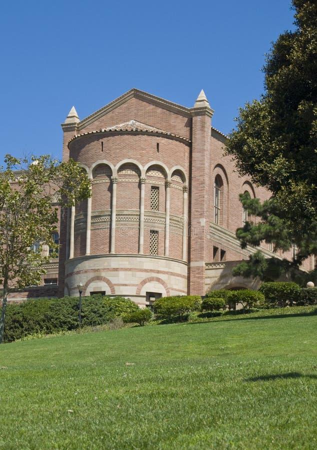 Torre del campus universitario imagen de archivo