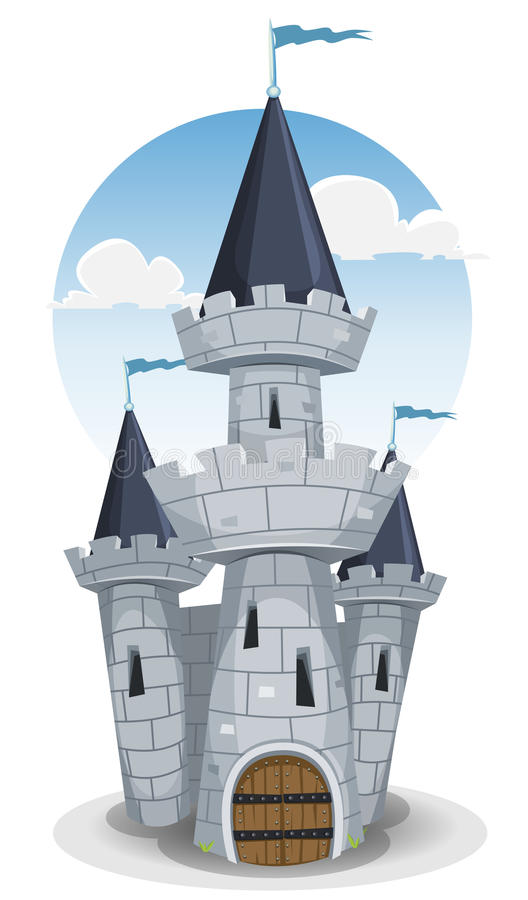 Torre del castello illustrazione vettoriale