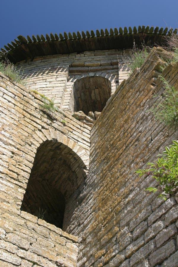 Torre del castillo imagen de archivo libre de regalías