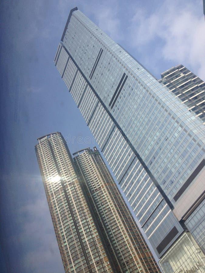 Torre del cielo azul imagen de archivo libre de regalías