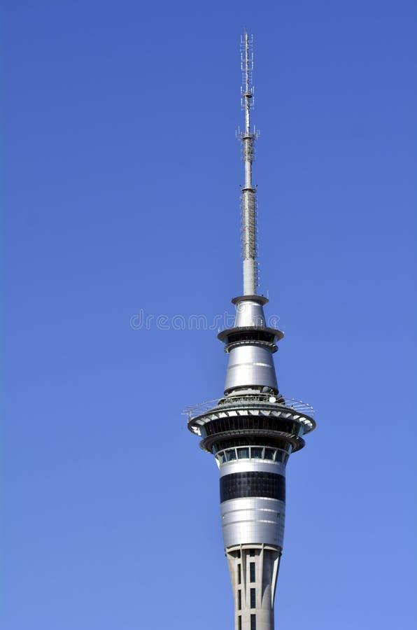 Torre del cielo de Auckland - Nueva Zelandia foto de archivo