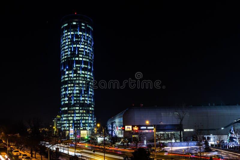 Torre del cielo de Bucarest foto de archivo libre de regalías