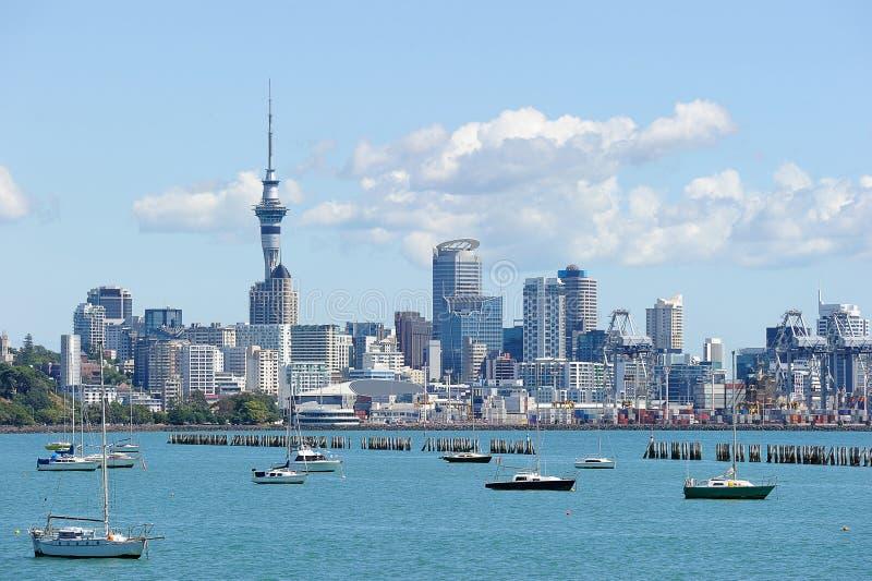 Torre del cielo in Nuova Zelanda fotografie stock libere da diritti