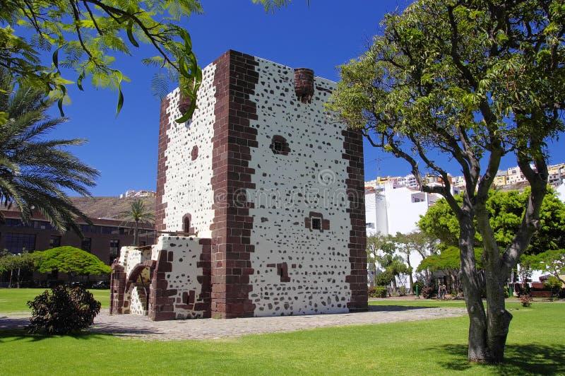 Torre del Conde fort, San Sebastian stock photos