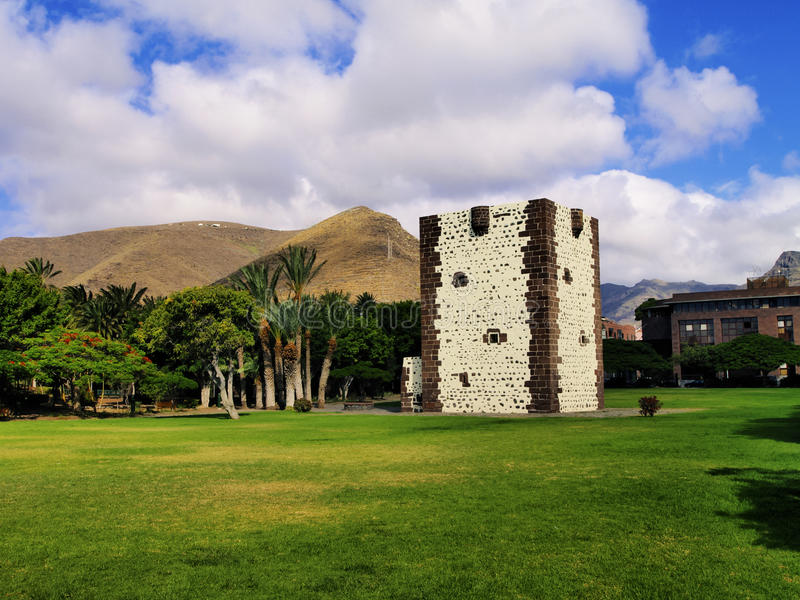 Torre del Conde on La Gomera. Torre del Conde - famous tower on the island La Gomera, Canary Islands, Spain stock photos