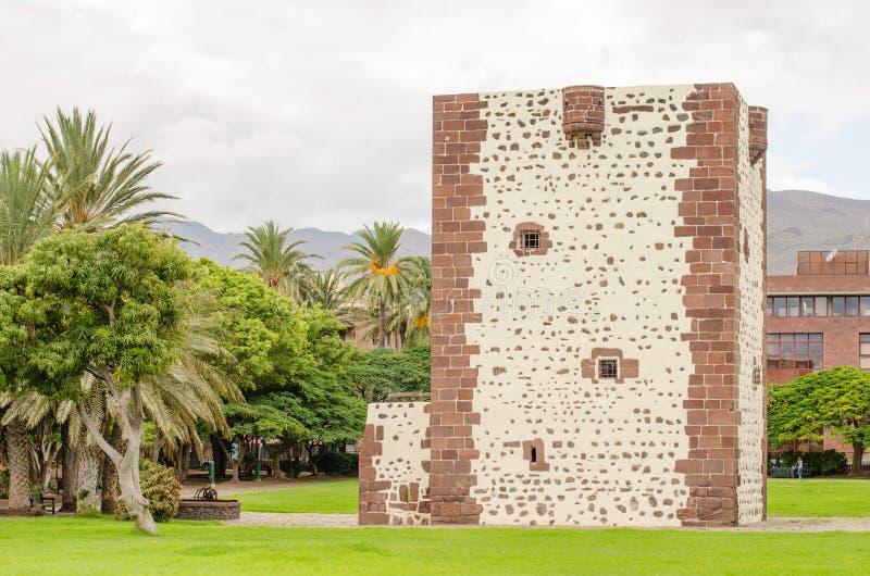 Torre del conde in San Sebastian de La Gomera, Gomera Island. Torre del conde in San Sebastian de La Gomera, Gomera Island, Canary Islands, Spain royalty free stock image