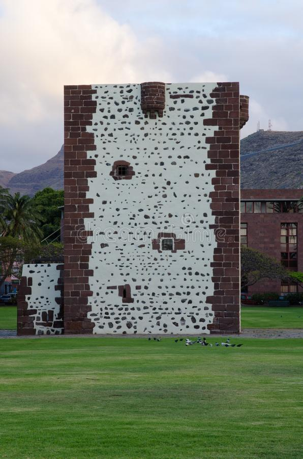 Torre del Conde. stock photo