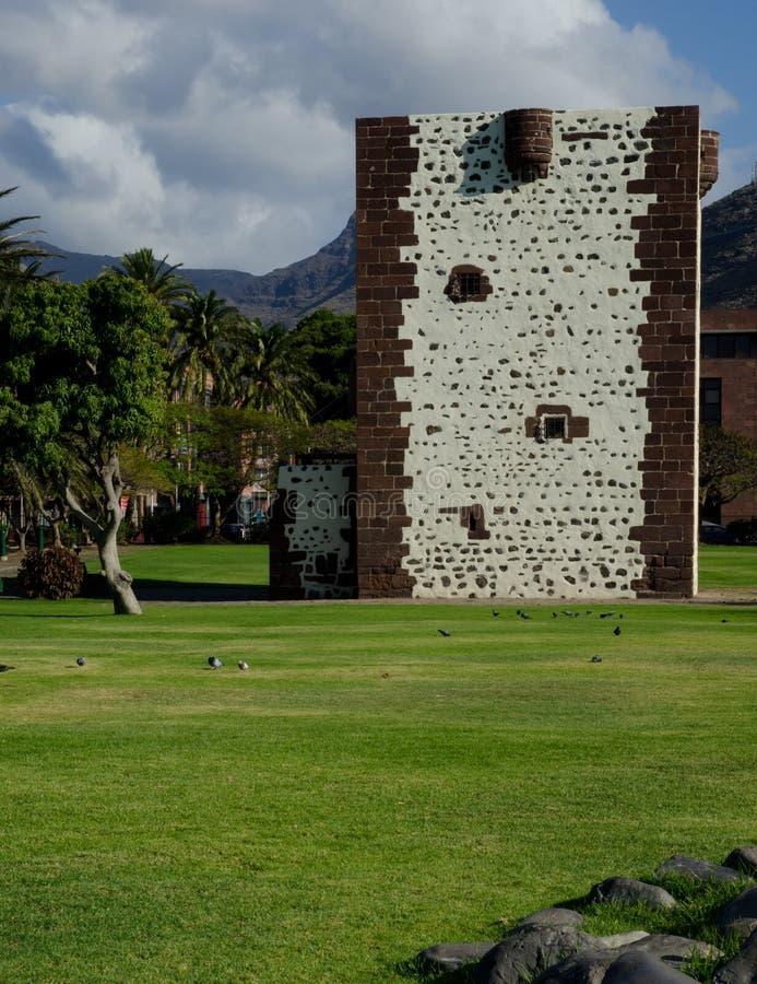 Torre del Conde. San Sebastian de La Gomera. La Gomera. Canary Islands. Spain stock images