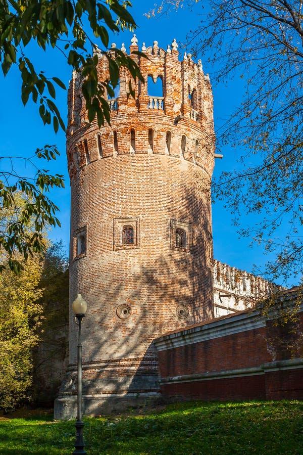 Torre del convento de Novodevichy, Moscú, Rusia foto de archivo libre de regalías