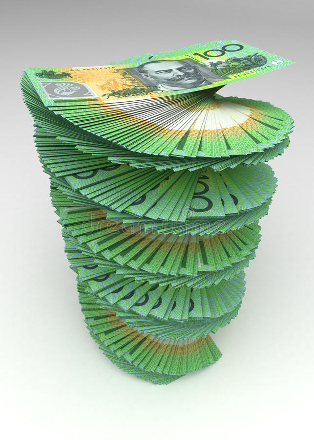 Torre del dólar australiano libre illustration