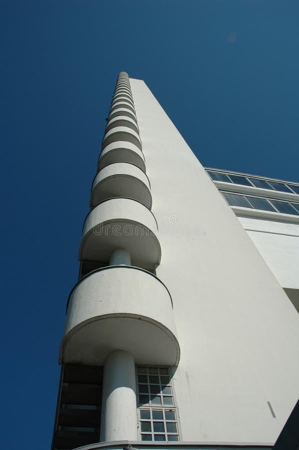 Torre del estadio imagen de archivo