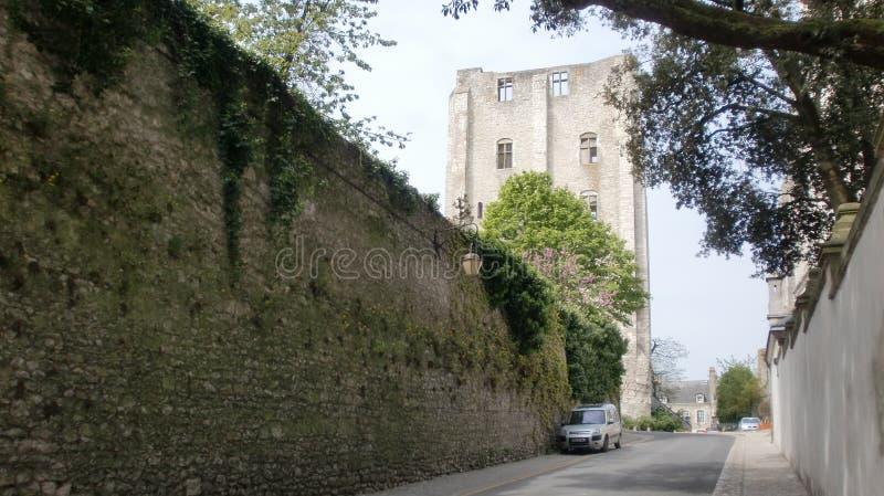 Torre del homenaje en Francia fotografía de archivo libre de regalías