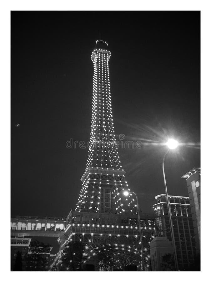 Torre del hotel de Parishian fotografía de archivo libre de regalías