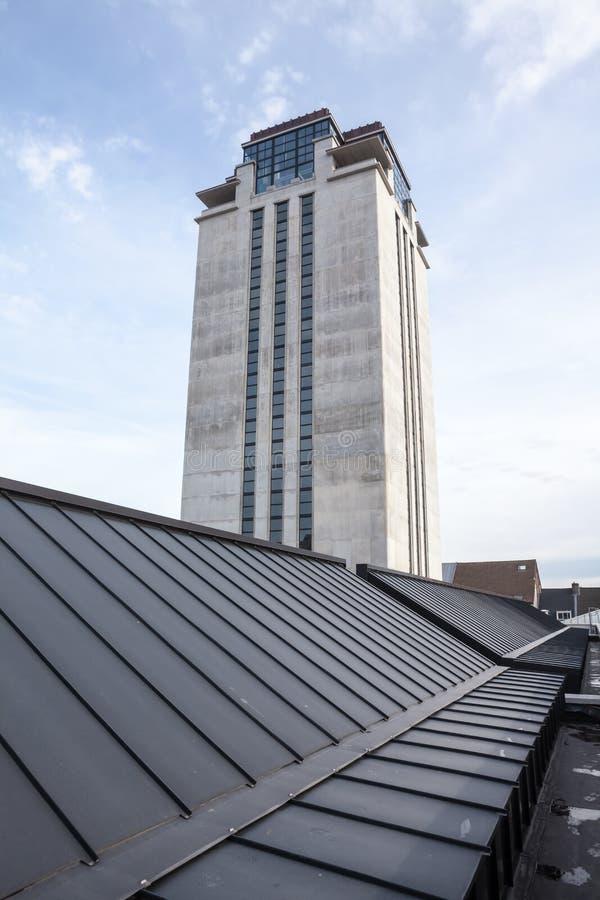 Torre del libro en Gante fotos de archivo libres de regalías