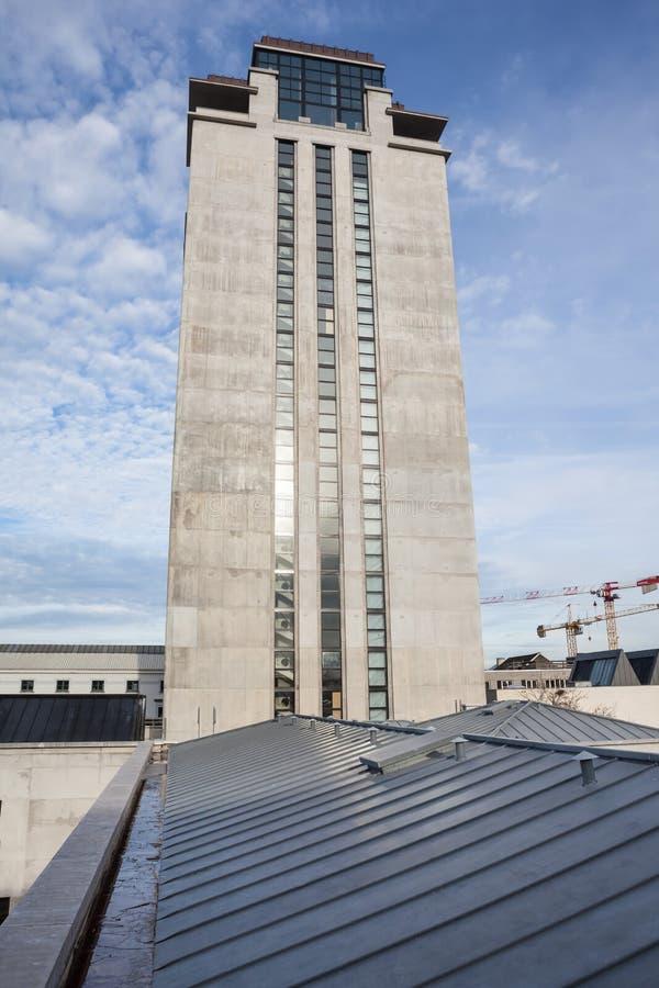 Torre del libro en Gante imagen de archivo libre de regalías