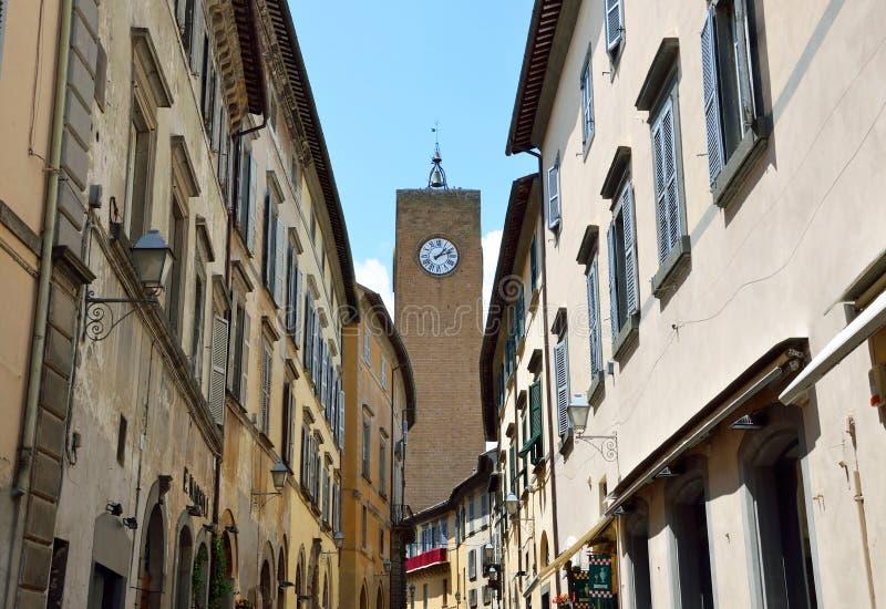 Torre del Moro stock afbeeldingen