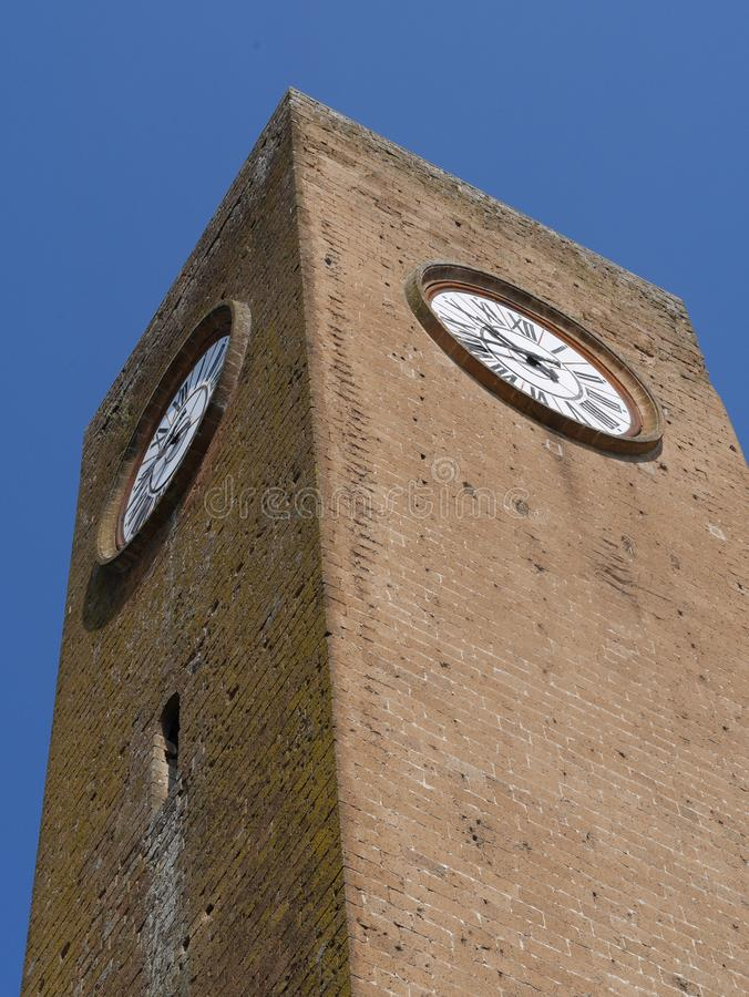 Torre del Moro, Orvieto stock foto's