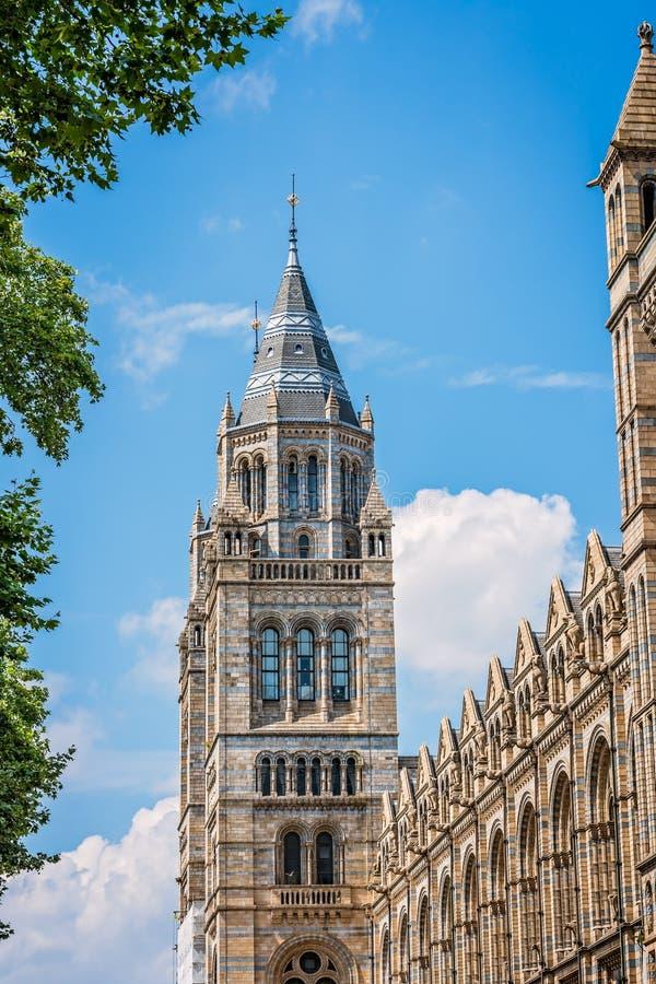 Torre del museo de la historia natural imagen de archivo
