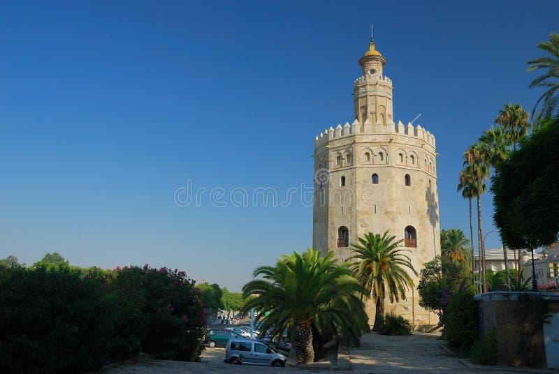 Torre Del Oro lizenzfreie stockbilder