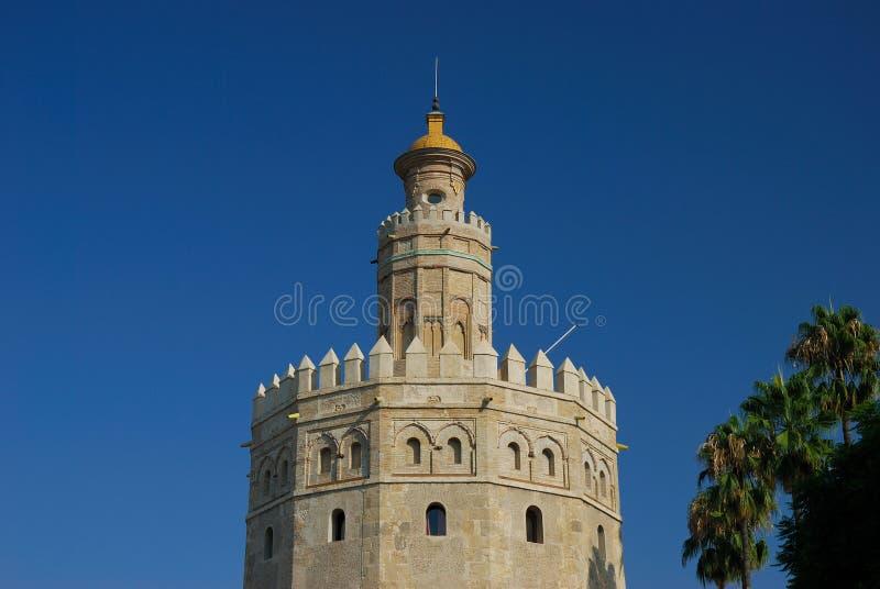 Torre Del Oro lizenzfreie stockfotos