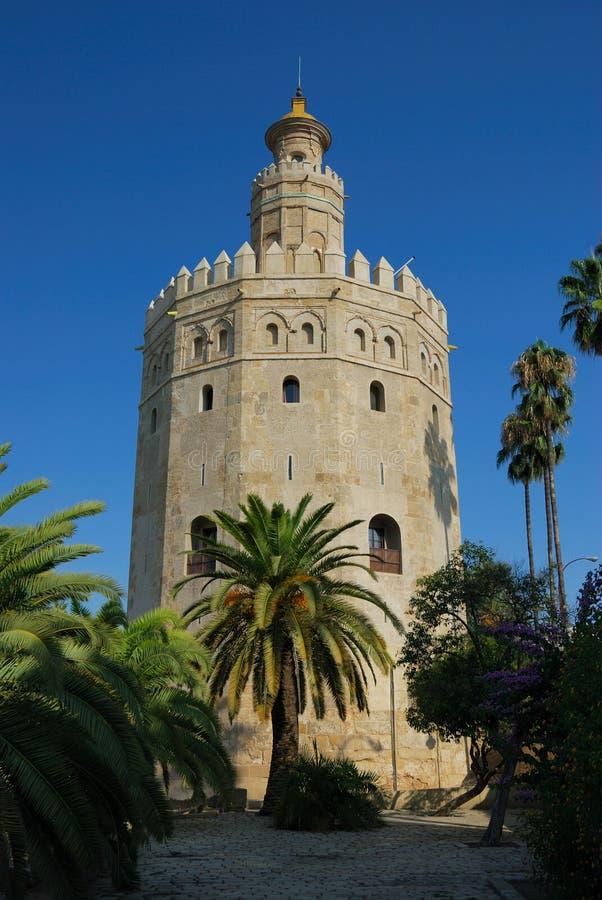 Torre Del Oro stockfoto