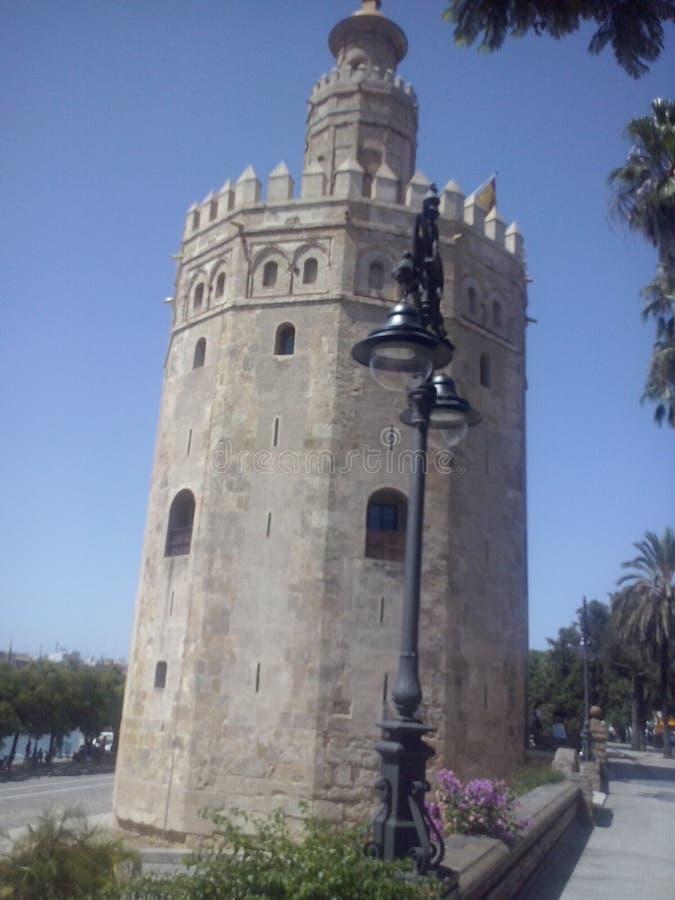 torre del oro стоковые изображения