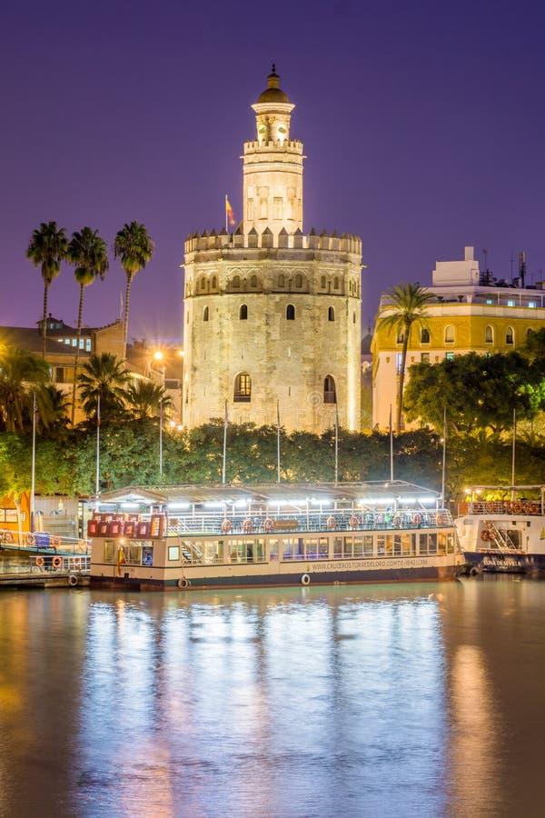 The Torre del Oro stock photo
