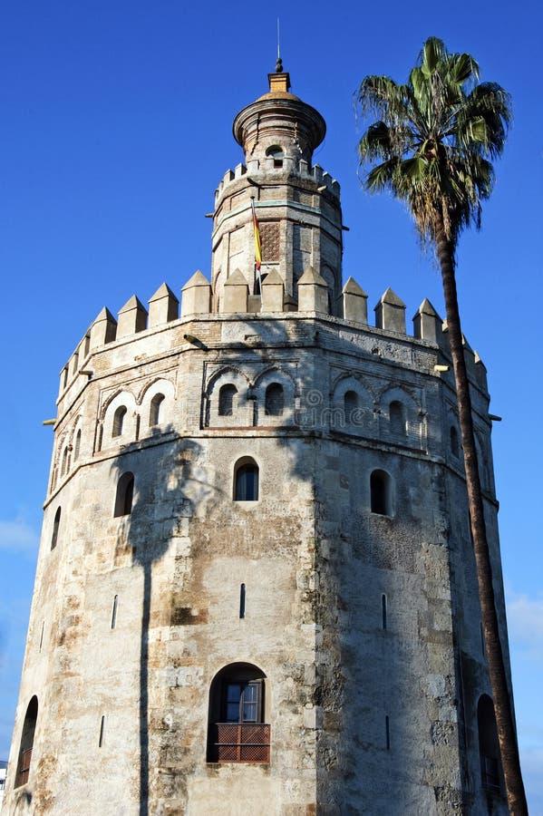 Torre del Oro, Sevilla stock fotografie