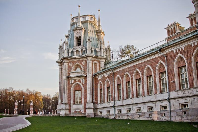 Torre del palacio de Tsaritsyno fotografía de archivo libre de regalías