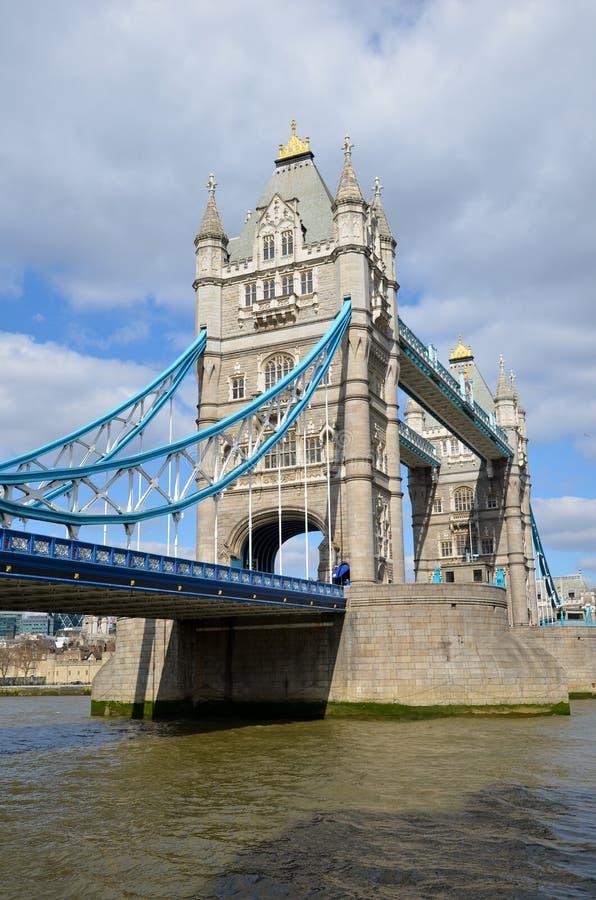 Torre del puente de Londres fotografía de archivo