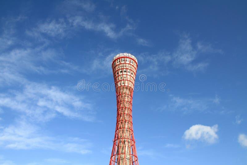 Torre del puerto de Kobe en Kobe, Hyogo fotografía de archivo