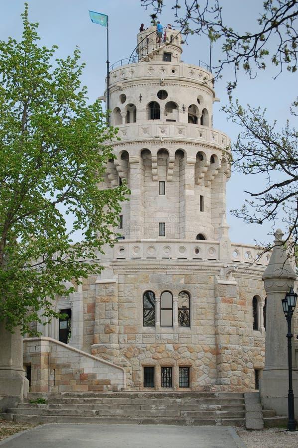 Torre del puesto de observación de las colinas de Janos foto de archivo libre de regalías