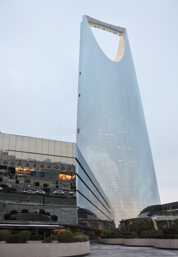 Torre del reino en Riyadh, la Arabia Saudita imágenes de archivo libres de regalías