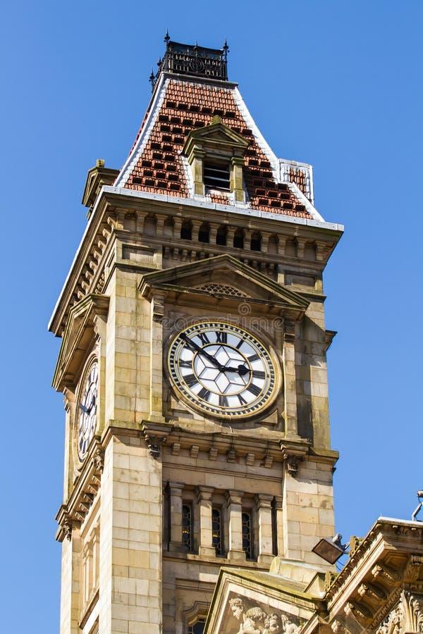 Torre del reloj de Birmingham fotos de archivo libres de regalías