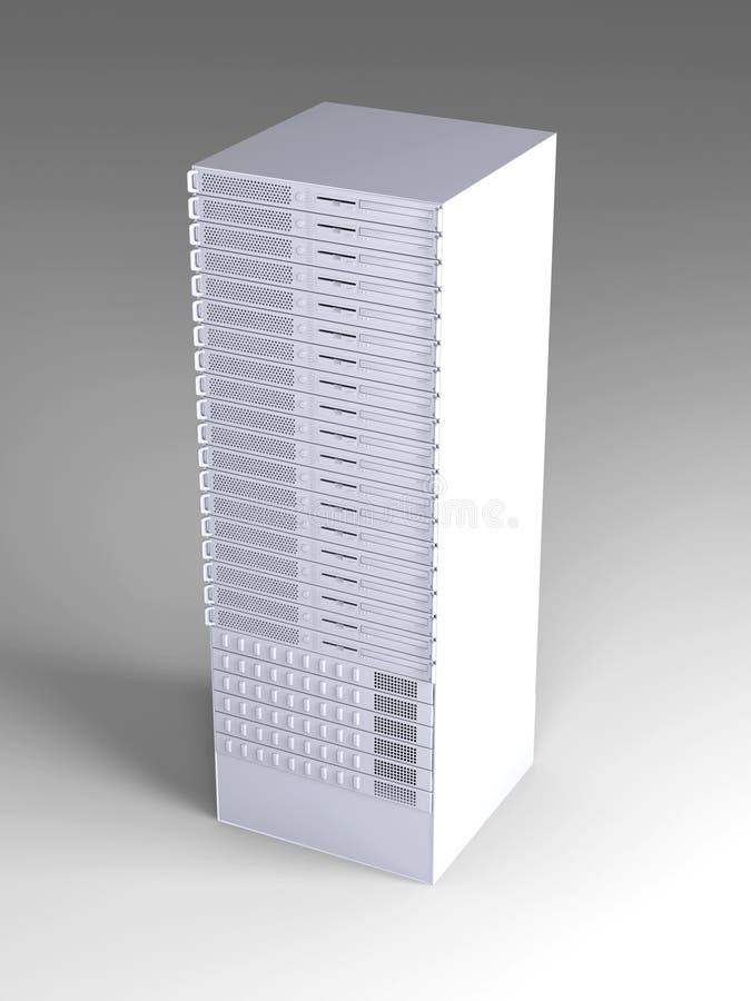 torre del servidor 19inch libre illustration