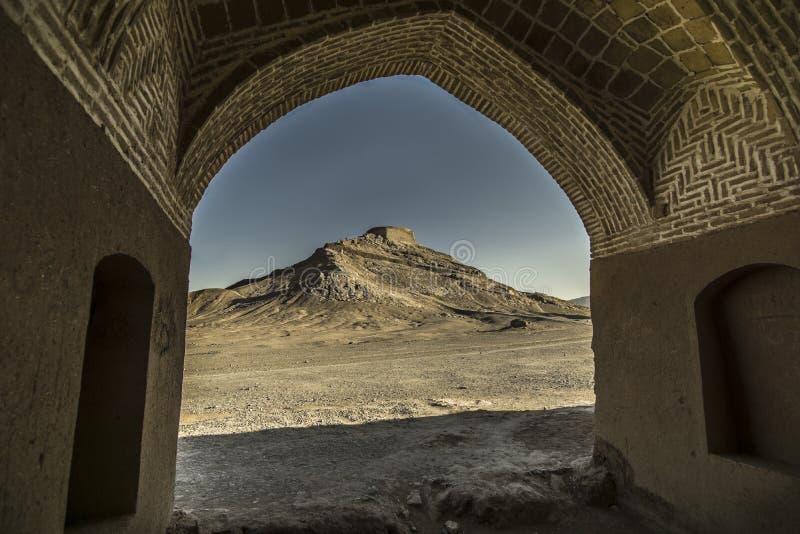 Torre del silencio foto de archivo